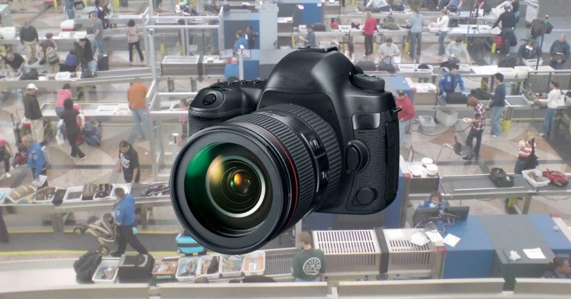 Cameras in Airports Now