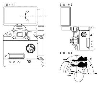 Canon Patents a Giant DSLR Flip Screen