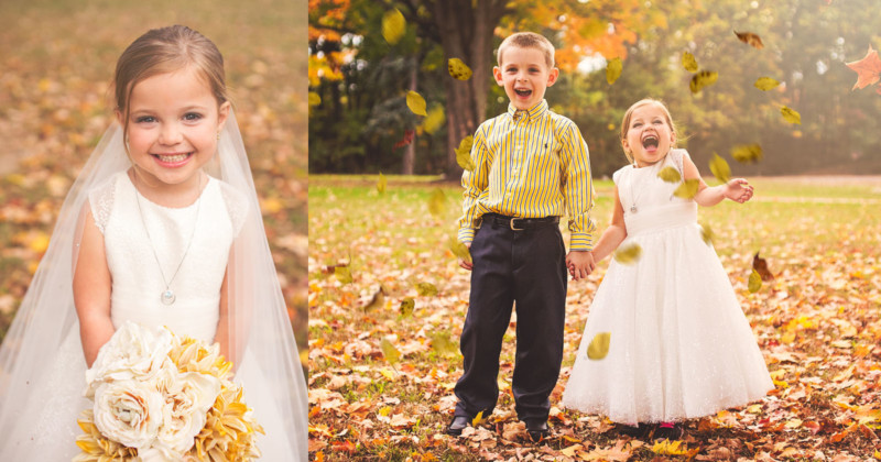 5YearOld Girl Gets Dream Wedding Photo Shoot Before 4th