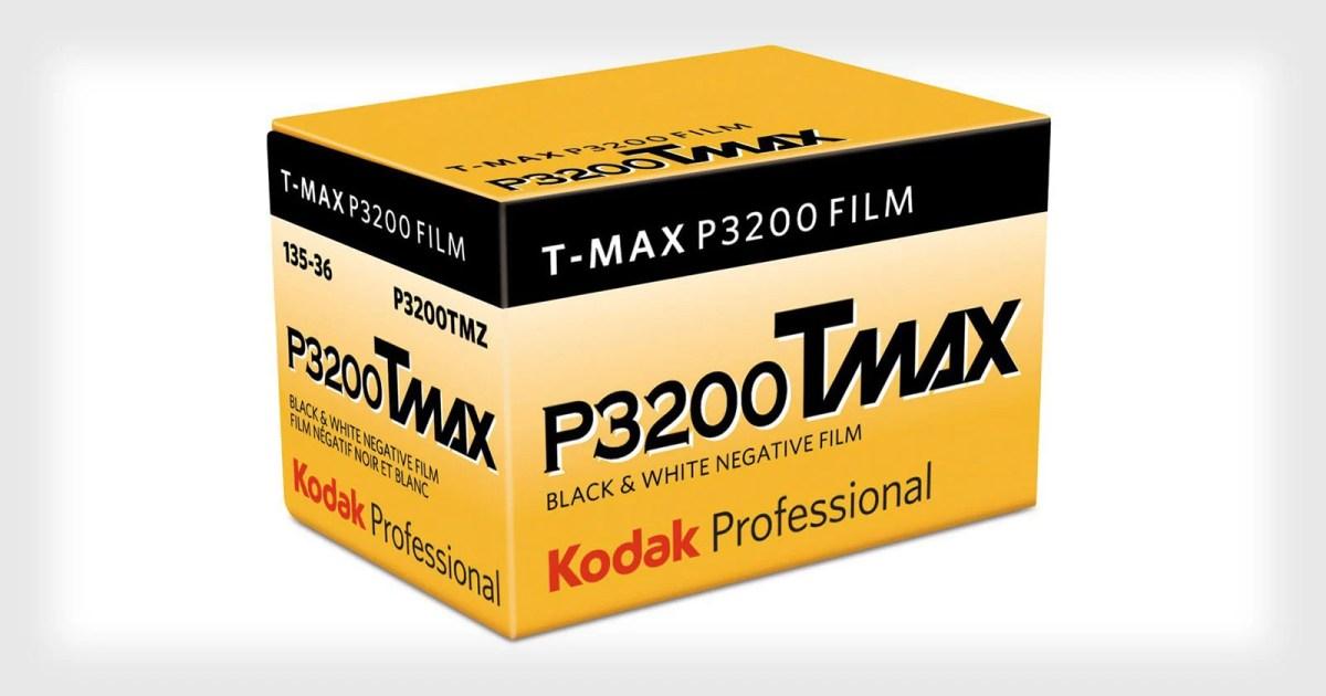 Kodak is Bringing Back T-MAX P3200 Film