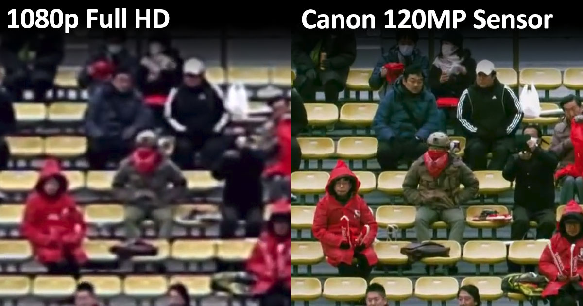 This is the Power of Canon's 120MP Camera Sensor
