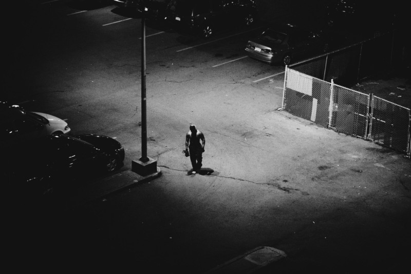 Photos of Loneliness in New York City