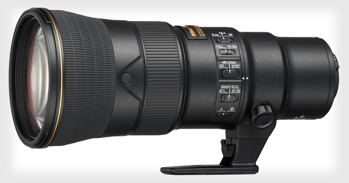 Nikon Launches the 500mm f/5.6 PF VR, a Tiny Super-Telephoto Lens