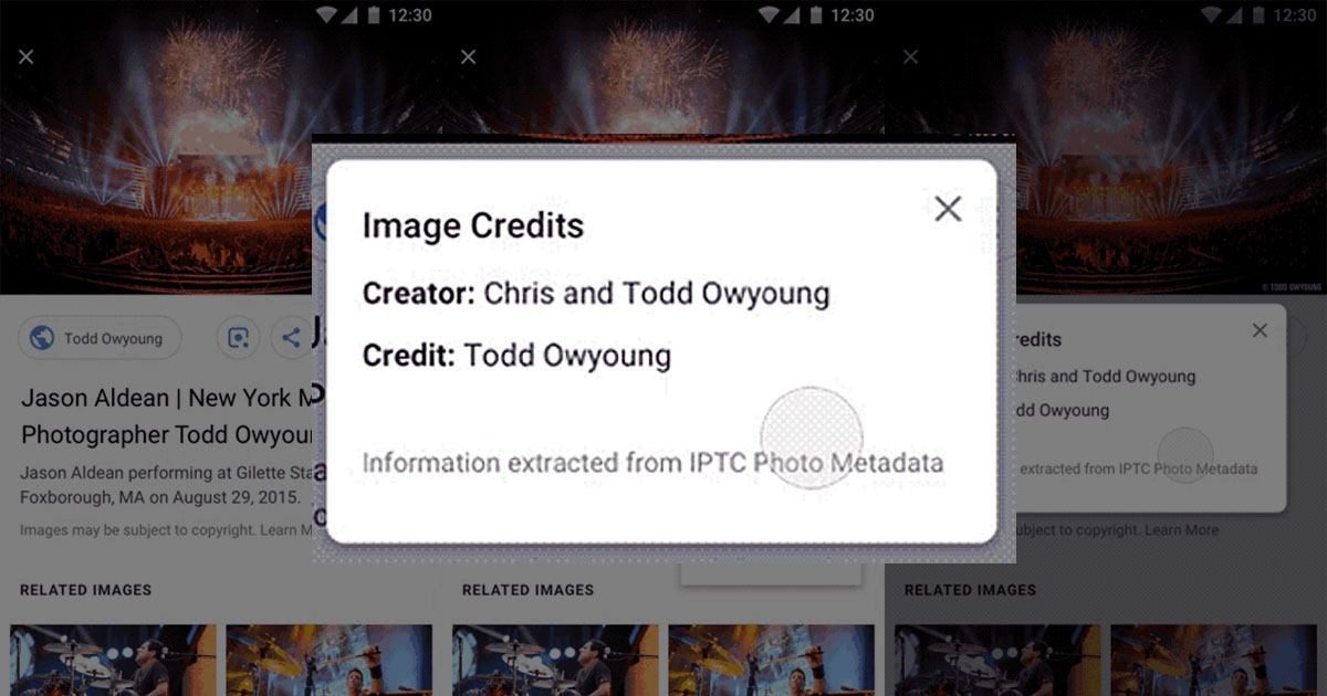 Google Adds Image Rights Metadata to Photo Search Results