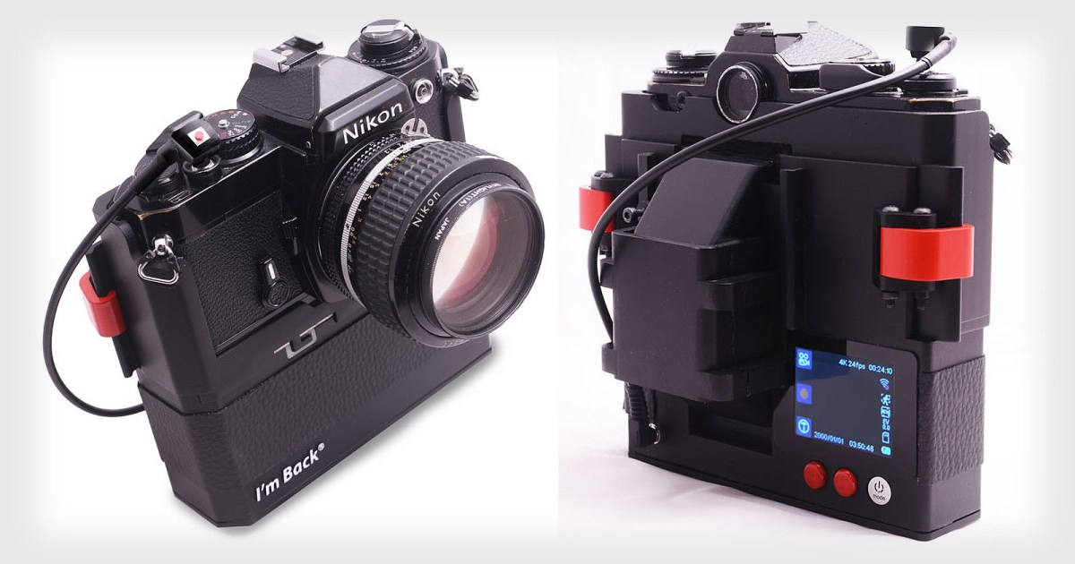I'm Back's Digital Backs for Old 35mm Cameras Are Now In Production