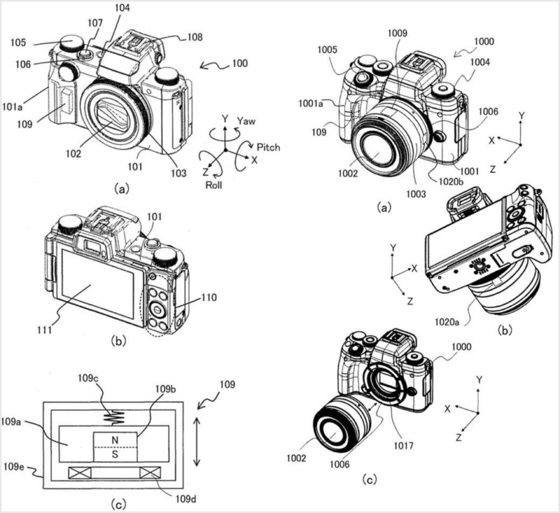 New Canon Patent Shows IBIS System for EOS M and PowerShot