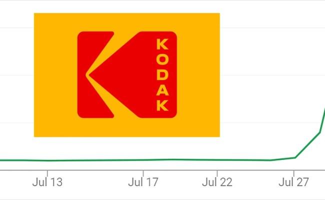 Kodak Stock Rockets Over 2 000 In 48 Hours On Drug Pivot News