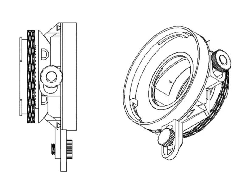 The Tilt-O-Matic is a 3D-Printed Tilt-Shift Adapter