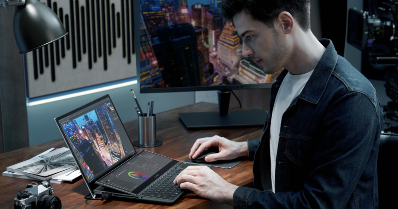 Asuss New Dual Screen Zenbooks Are Aimed at Creatives