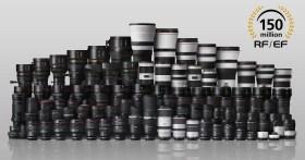 Canon ha ora prodotto oltre 150 milioni di obiettivi RF ed EF