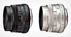 La perdita rivela l'ottica Pentax aggiornata, inclusa la lente limitata da 77 mm f / 1.8