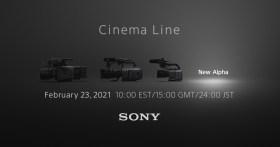 Sony annuncia l'uscita della Cinema Line Camera per il 23 febbraio