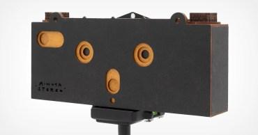 Questa fotocamera stenoscopica 3D stenoscopica mira a far rivivere la fotografia stereografica