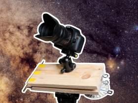 Costruisci un rudimentale Star Tracker a manovella per $ 30