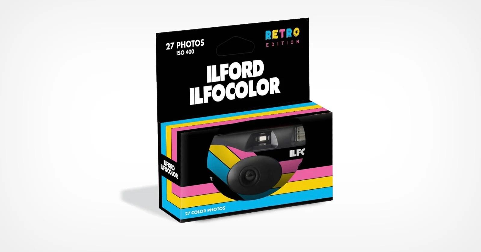 Ilford lancia la fotocamera usa e getta Ilfocolor Rapid Retro Edition