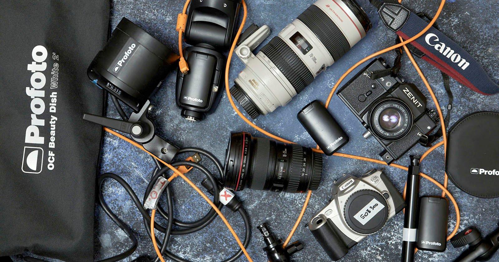 Come ho risparmiato $ 15.000 acquistando l'attrezzatura per fotocamere Pro