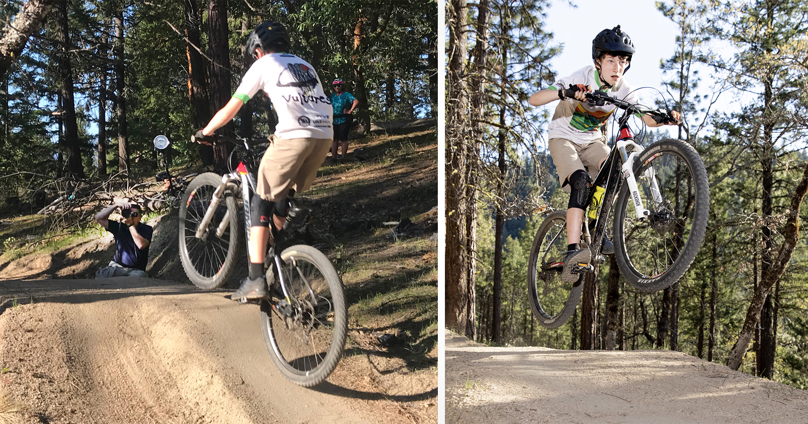 Ricco di azione: fotografare gli appassionati di mountain bike con EOS R5
