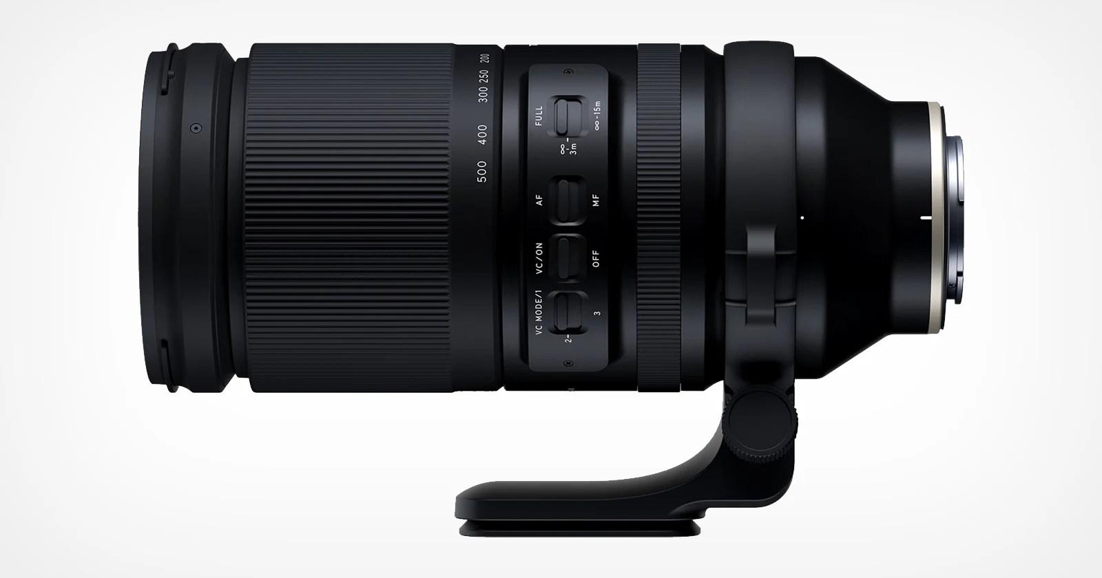 Tamron lancia lo zoom super tele da 150-500 mm per Sony E-Mount