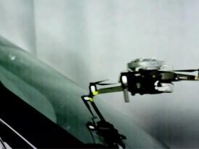 Questo è ciò che accade quando un DJI Mavic colpisce il parabrezza di un'auto a 100 km / h