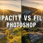 Qual è la differenza tra opacità e riempimento in Photoshop?
