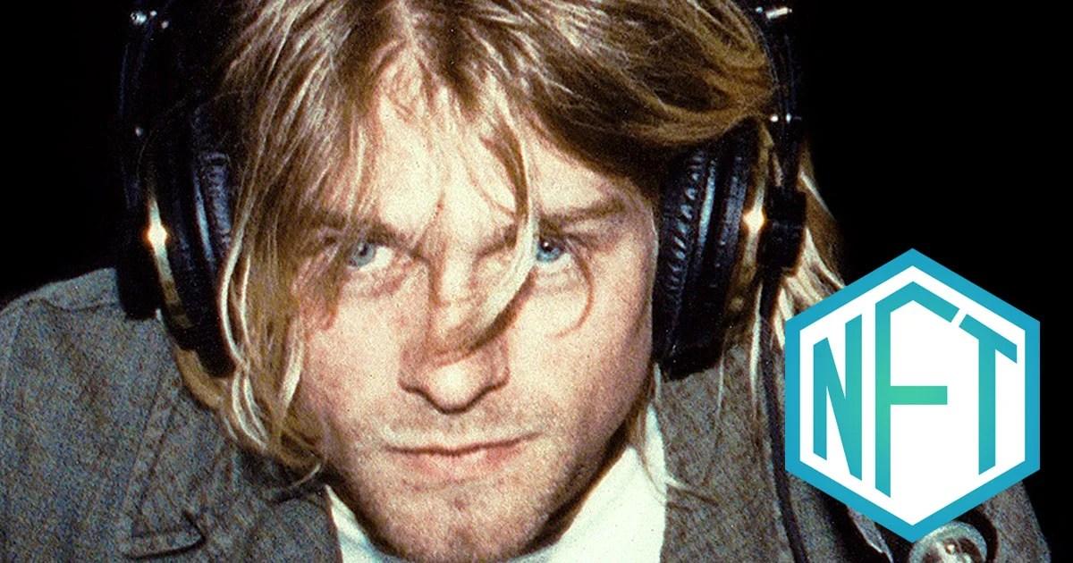 L'ultimo servizio fotografico di Kurt Cobain sarà venduto come NFT