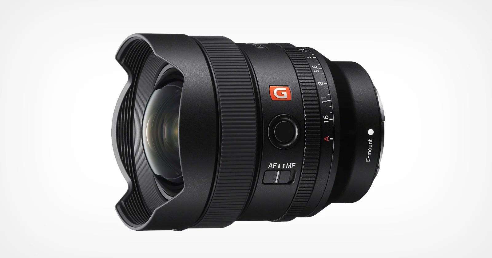 Sony presenta l'obiettivo G-Master compatto e leggero da 14 mm f / 1.8