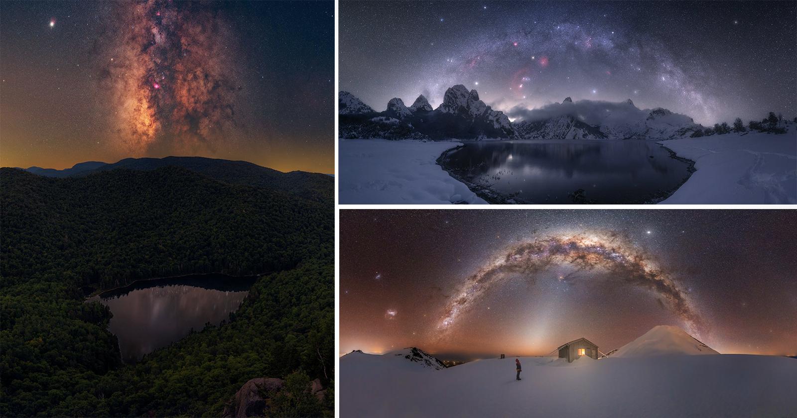 10 foto incredibili dal fotografo dell'anno 2021 della Via Lattea