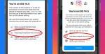 Instagram utilizza la notifica iOS per convincerti ad accettare il monitoraggio delle app