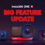Insta360 annuncia l'aggiornamento delle funzionalità principali per la fotocamera ONE R.