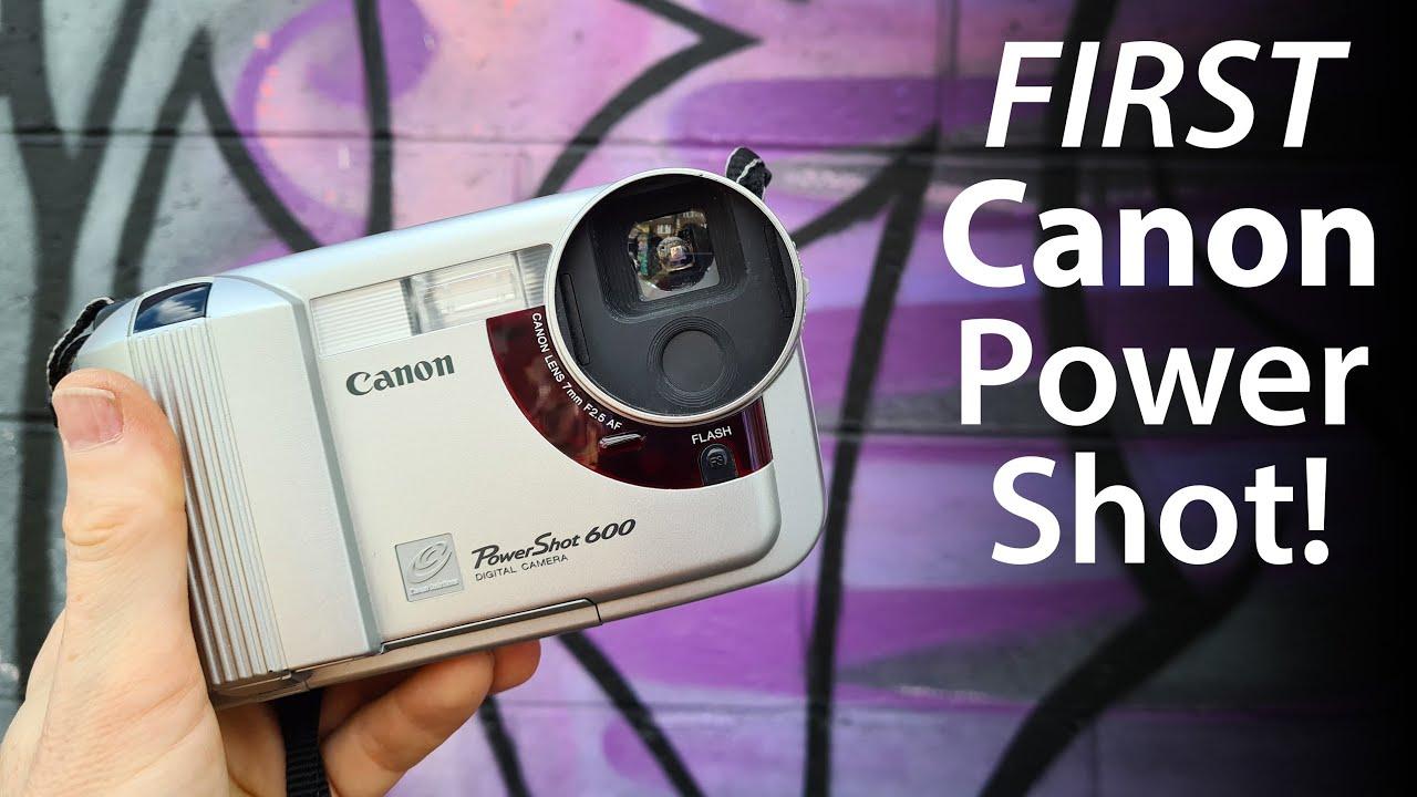 Recensione della prima fotocamera digitale consumer di Canon 25 anni dopo