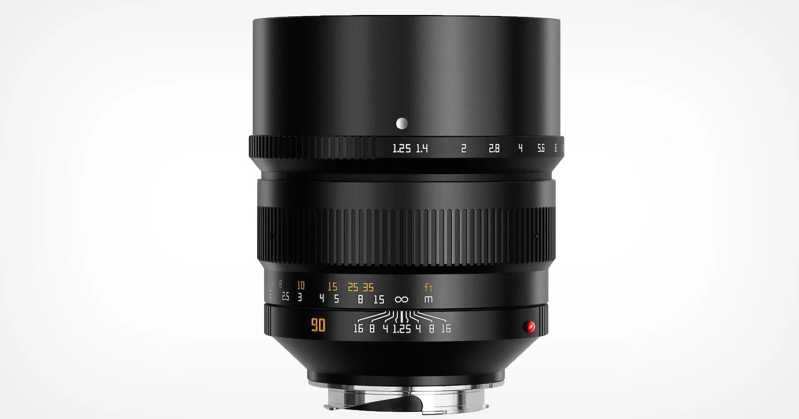 TTArtisan lancia un obiettivo da 90 mm f / 1,25 per attacco Leica M.