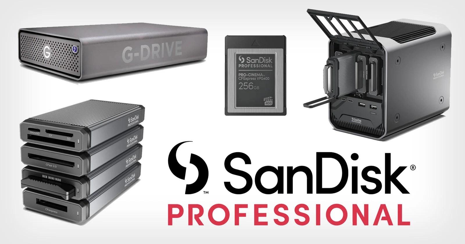 Western Digital presenta le soluzioni di archiviazione professionali SanDisk per creatori professionisti