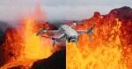 Questo ragazzo ha fatto volare un drone in un cratere del vulcano