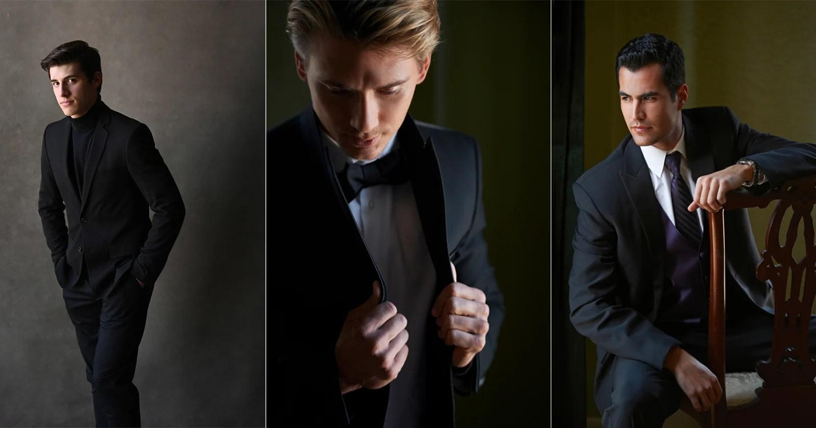 Come posare gli uomini per ritratti dall'aspetto naturale: un tutorial dettagliato