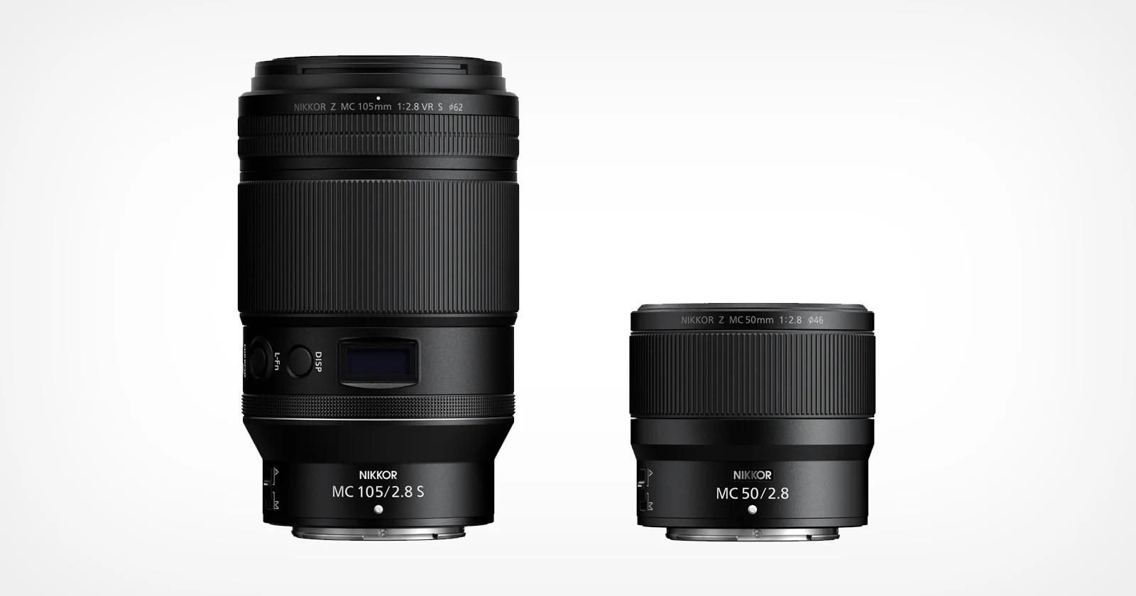 Nikon lancia gli obiettivi macro Z-Mount da 105 mm f/2,8 e 50 mm f/2,8