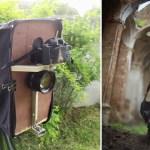 Il fotografo ricrea l'aspetto di una pellicola di grande formato con una fotocamera digitale