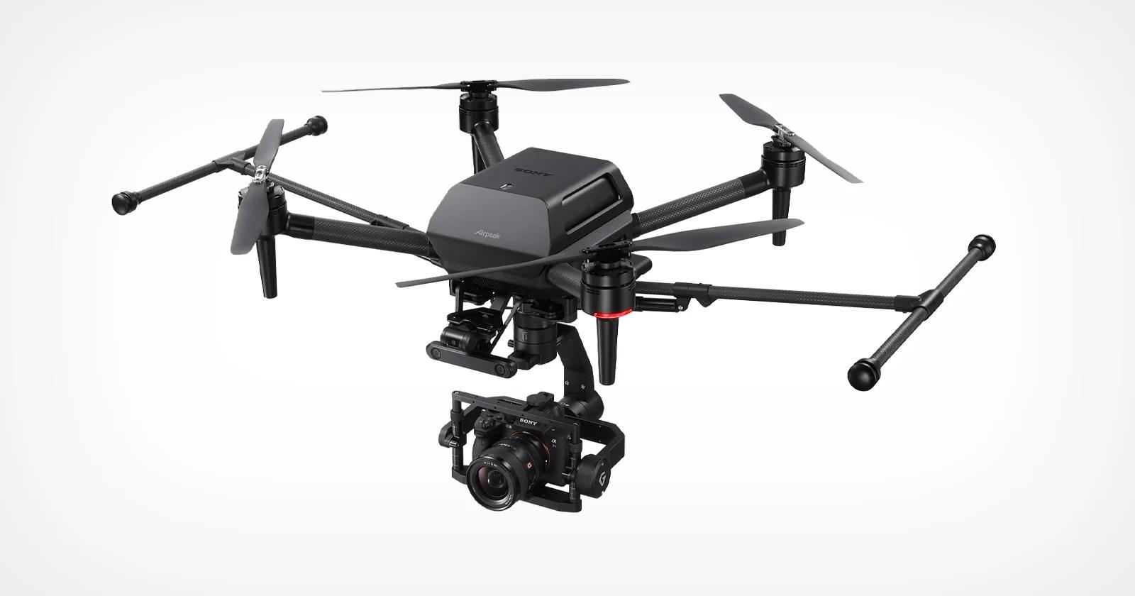 Sony presenta ufficialmente l'Airpeak S1: un drone da 9.000 dollari di livello professionale