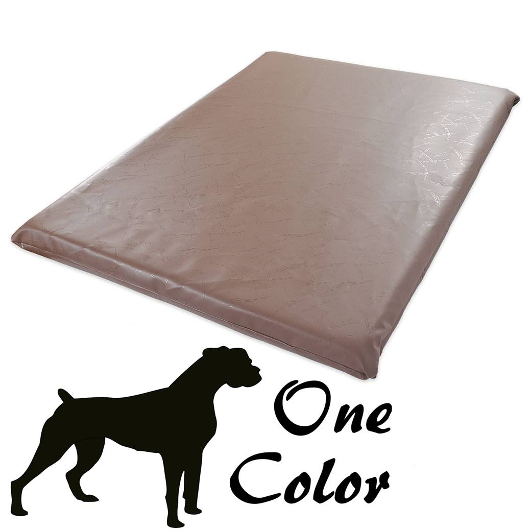waterproof mattress pad for sofa bed average cost of a good leather bouncy castle fabric- brown dog mats • new pet ...