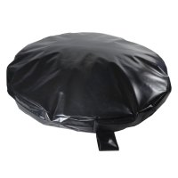 Heavy Duty Black Waterproof Circular Dog Bed  New Pet