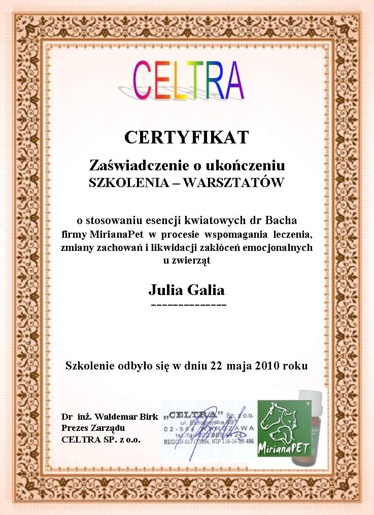 Julia Galia Zoopsycholog Koci Psycholog Krople Bacha