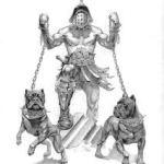 desenho de cane corso na guerra