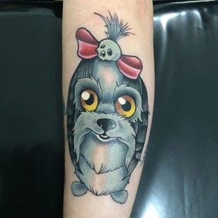 Tatuagem Shihtzu