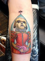 tatutagem-de-shih-tzu-femea