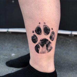 ideias de tatuagem pata
