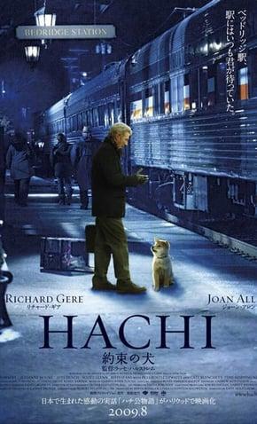 filme do cachorro Hachiko