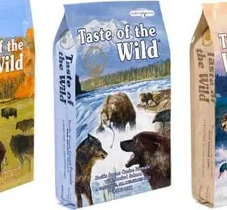 Taste of wild dry dog food