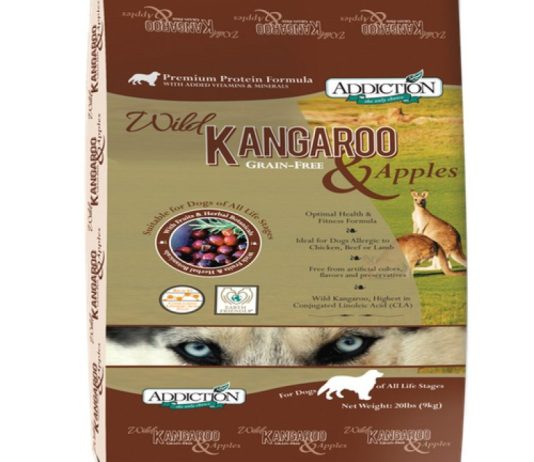 Addiction dog food packet