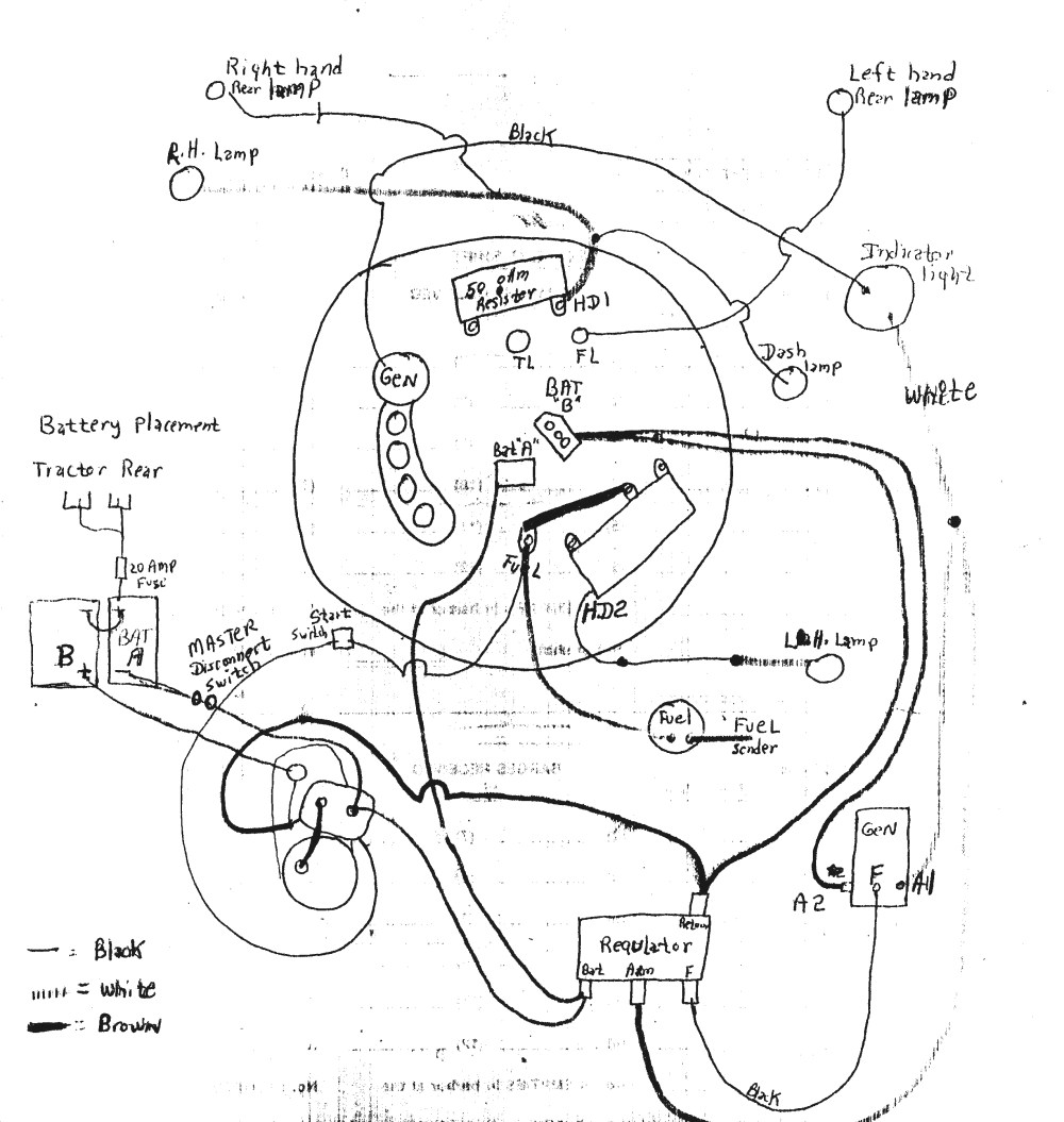 medium resolution of farmall a tractor 6 volt positive ground wiring diagram