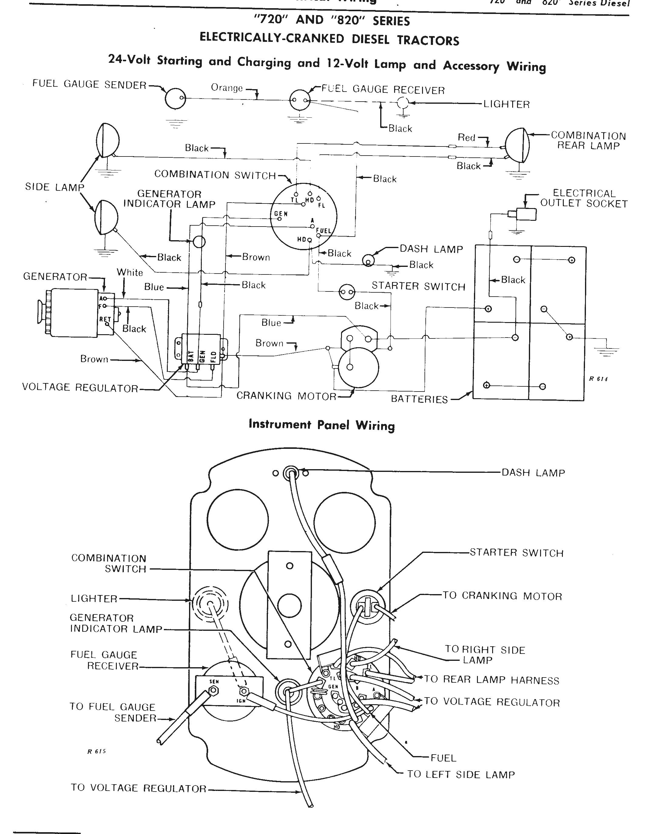 John Deere 3010 Lights Wiring Diagram The John Deere 24 Volt Electrical System Explained