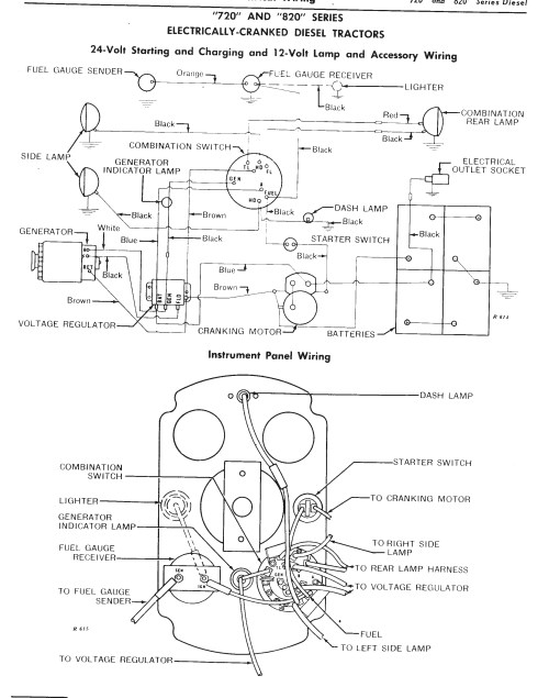 small resolution of john deere positive ground wiring diagram wiring library john deere 350 wiring diagram john deere 6 volt wiring diagram